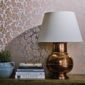 Manarola Wallpaper - British Isles Damask - Osborne & Little - W7219-01