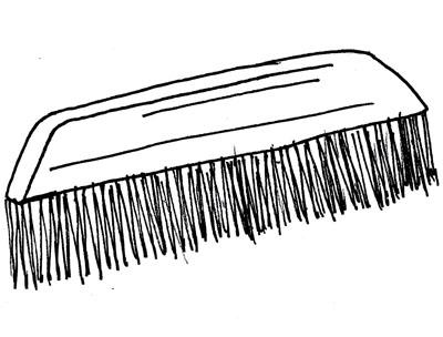 brosse à tapisser